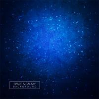 Vetor de fundo colorido de universo de galáxia