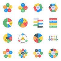 infográficos em estilo editável vetor
