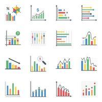 infográficos de negócios plana vetor