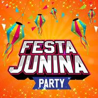 design de pôster festa festa junina vetor
