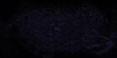 fundo do triângulo do sumário do vetor do cinza escuro.