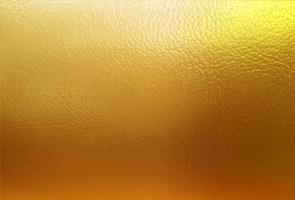 modelo de fundo de folha de ouro de vetor