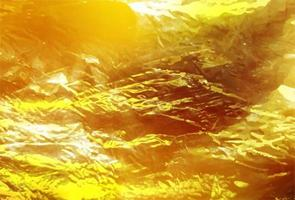 modelo de fundo de folha dourada vetor