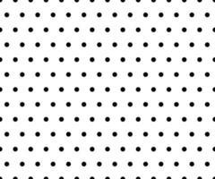 vetor de fundo padrão de bolinhas preto e branco