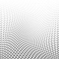 desenho gráfico geométrico abstrato imprimir padrão de triângulo de meio-tom vetor