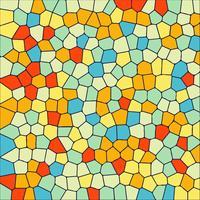 Fundo cristal moderno mosaico colorido vetor