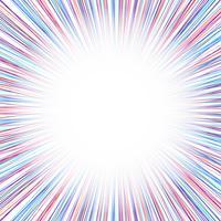 Fundo abstrato raios coloridos vetor