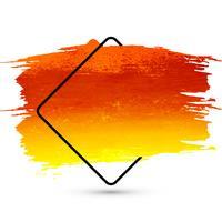 Bela mão aquarela colorida desenhar desenho de traçado vetor