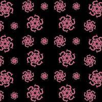 padrão floral desenho abstrato vetor