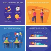 ilustração em vetor conceito design de saúde infantil