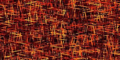 modelo de vetor laranja escuro com varas repetidas.