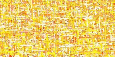 fundo vector amarelo claro com estilo poligonal.