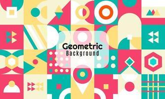 fundo geométrico abstrato design minimalista vetor
