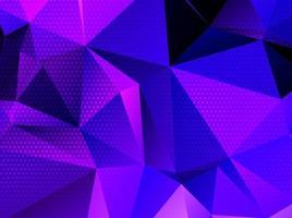 fundo de cristal geométrico triangular colorido abstrato vetor