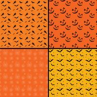 Origens de Halloween telha sem emenda