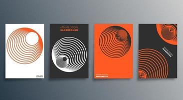 design minimalista geométrico para flyer pôster brochura capa fundo papel de parede tipografia ou outros produtos de impressão ilustração vetorial vetor