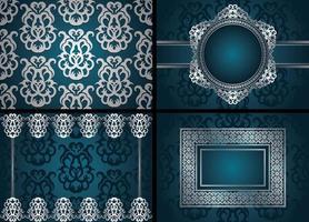 designs de fundo de luxo vetor