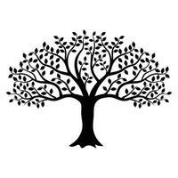 desenho de árvore de clipart vetor