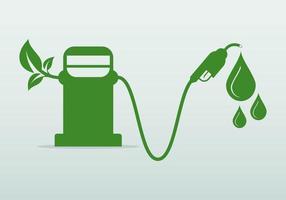 conceito do dia internacional do biodiesel vetor