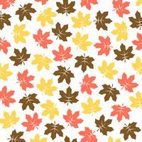 Maple Leaf Padrão vetor