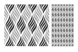 padrões de azulejos antigos design sem costura antigo em ilustração vetorial vetor