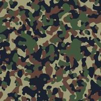 camuflagem militar padrão fundo ilustração vetorial design vetor