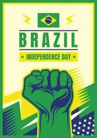 Dia da Independência do Brasil vetor