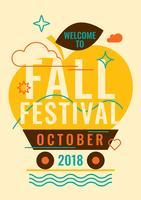 Festival de Outono vetor