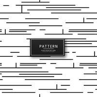 Ilustração de padrão de linhas geométricas modernas