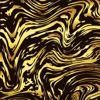 Design de textura de mármore dourado brilhante abstrato vetor