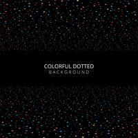 Vetor de fundo abstrato pontos coloridos