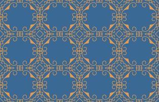 vintage luxuoso padrão sem emenda vetor