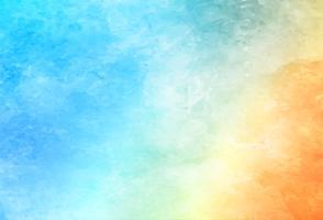 Fundo colorido bonito da aguarela vetor
