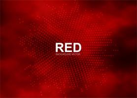 Ilustração de fundo abstrato meio-tom vermelho vetor