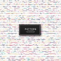 Fundo abstrato colorido padrão geométrico vetor