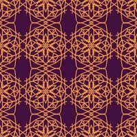 ornamento padrão islâmico sem costura vetor