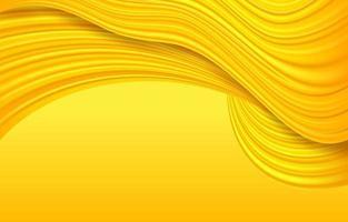 fundo de textura de onda amarela vetor