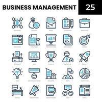 ícone de gestão de negócios vetor