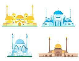 conjunto de mesquitas diferentes vetor