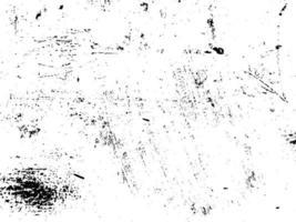 ferrugem e sujeira sobrepõem-se à textura preta e branca vetor