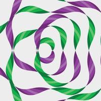 padrão de gravata geométrica colorida vetor abstrato