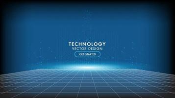 fundo abstrato tecnologia vetor
