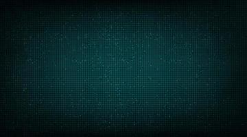 fundo de tecnologia verde escuro moderno vetor
