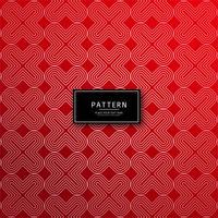 Fundo abstrato geométrico decorativo vermelho