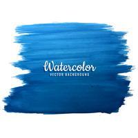 fundo aquarela azul moderno vetor