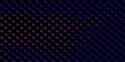 fundo abstrato colorido do vetor com gradiente