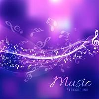 Música moderna vetor