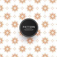 Abstract Floral Tiles Seamless Design de repetição vetor
