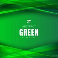 modelo verão verde natureza molda triângulos sobrepostos com sombra no fundo do cabeçalho e rodapés. vetor
