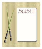 design de cartão de menu vetor